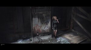 Rating: Safe Score: 37 Tags: blonde_hair graffiti hoodie original shorts smoking yurichtofen User: boomshadow