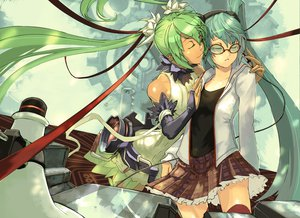 Rating: Safe Score: 33 Tags: bigegg hatsune_miku vocaloid User: HawthorneKitty