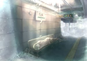 Rating: Safe Score: 123 Tags: eliza feathers original ruins short_hair sleeping train User: Dust