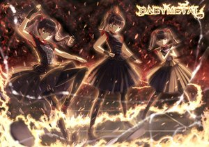 Rating: Safe Score: 55 Tags: babymetal blush fire kazeno kikuchi_moa loli lolita_fashion mizuno_yui nakamoto_suzuka pantyhose ponytail twintails User: gnarf1975