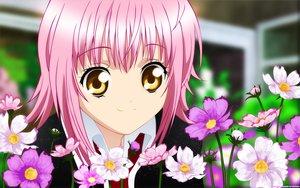 Rating: Safe Score: 53 Tags: close hinamori_amu peach-pit pink_hair shugo_chara vector yellow_eyes User: anaraquelk2
