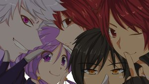 Rating: Safe Score: 18 Tags: add_(elsword) aisha_(elsword) black_hair close elesis_(elsword) elsword elsword_(character) group male parody purple_eyes purple_hair raven_(elsword) red_eyes red_hair white_hair wink yellow_eyes User: humanpinka