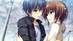 Rating: Safe Score: 59 Tags: blue_eyes blue_hair brown_hair game_cg koi_de_wa_naku makishima_yumi male norifumi_(koi_de_wa_naku) short_hair snow tears tomose_shunsaku User: Katsumi