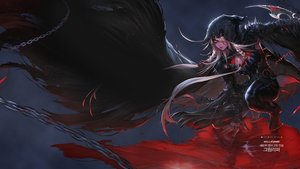 Rating: Safe Score: 27 Tags: armor blood dungeon_and_fighter long_hair red_eyes shackles User: _Egoist