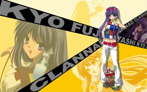 Rating: Safe Score: 46 Tags: botan clannad fujibayashi_kyou User: pantu