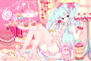 Rating: Safe Score: 49 Tags: hatsune_miku kajiami lots_of_laugh_(vocaloid) vocaloid User: anaraquelk2
