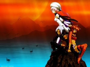 Rating: Safe Score: 1 Tags: .hack// .hack//g.u. .hack//link .hack//roots haseo shino tabby User: Oyashiro-sama