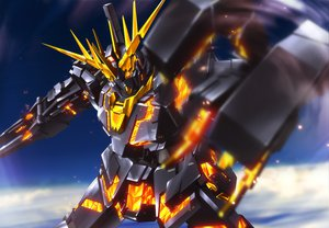 Rating: Safe Score: 103 Tags: mecha mobile_suit_gundam mobile_suit_gundam_unicorn unicorn_gundam_banshee zb User: Noctreve