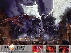 Rating: Safe Score: 11 Tags: alexander bahamut final_fantasy final_fantasy_ix User: Oyashiro-sama