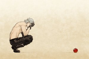 Rating: Safe Score: 20 Tags: all_male apple boots brown crying eve_(nier:_automata) food fruit gloves gray_hair male nier nier:_automata short_hair sketch tagme_(artist) tears topless User: otaku_emmy