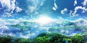 Rating: Safe Score: 219 Tags: 3d clouds landscape nobody original scenic sky y-k User: Flandre93