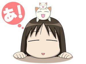 Rating: Safe Score: 15 Tags: azumanga_daioh kasuga_ayumu nekokoneko User: Oyashiro-sama