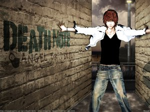 Rating: Safe Score: 23 Tags: all_male brown_hair death_note male yagami_light User: Oyashiro-sama
