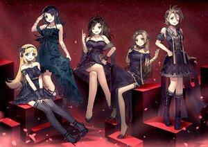 Rating: Safe Score: 106 Tags: ainy77 fujimoto_rina goth-loli group idolmaster idolmaster_cinderella_girls kimura_natsuki lolita_fashion matsunaga_ryo mukai_takumi yamato_aki User: BattlequeenYume