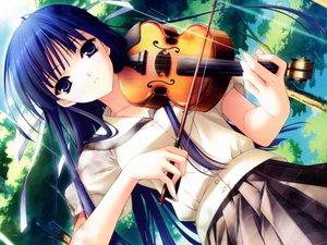 Rating: Safe Score: 39 Tags: instrument suzuhira_hiro violin yosuga_no_sora User: 秀悟