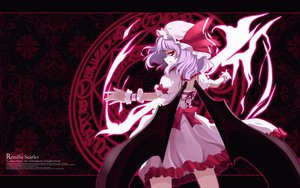 Rating: Safe Score: 150 Tags: animated bow dress hat magic purple_hair red_eyes remilia_scarlet short_hair touhou vampire wings User: w7382001