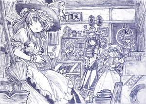 Rating: Safe Score: 49 Tags: book bow braids dress glasses hakurei_reimu hat headdress izayoi_sakuya japanese_clothes kirisame_marisa maid male miko monochrome morichika_rinnosuke remilia_scarlet sketch touhou vampire witch yukkuri_shiteitte_ne zaxzero User: Kumacuda