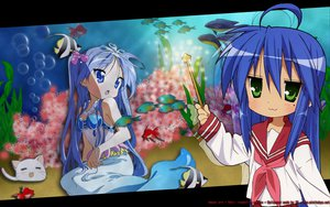 Rating: Safe Score: 41 Tags: hiiragi_kagami izumi_konata lucky_star school_uniform User: pantu