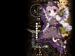 Rating: Safe Score: 3 Tags: animal_ears dress hat kneehighs mystia_lorelei pink_hair purple_eyes short_hair touhou wings User: Oyashiro-sama