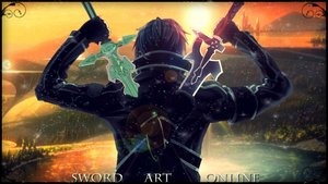 Rating: Safe Score: 169 Tags: forest kirigaya_kazuto male short_hair sunset sword sword_art_online tagme tree water weapon User: ssagwp