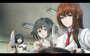 Rating: Safe Score: 34 Tags: huke jpeg_artifacts knife makise_kurisu shiina_mayuri steins;gate urushibara_ruka User: rlyeh