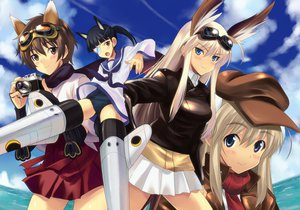 Rating: Safe Score: 45 Tags: hanna-justina_marseille katou_keiko sakamoto_mio strike_witches wilma_bishop User: HawthorneKitty