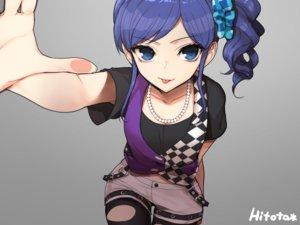 Rating: Safe Score: 125 Tags: aikatsu! blue_eyes hitoto kiriya_aoi pantyhose ponytail shorts torn_clothes User: mattiasc02