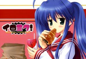 Rating: Safe Score: 23 Tags: food ikegami_akane izumi_konata lucky_star twintails User: Oyashiro-sama