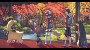 Rating: Safe Score: 49 Tags: autumn bayleef gold_(pokemon) kotone_(pokemon) pippi_(p3i2) pokemon quilava sentret User: FormX