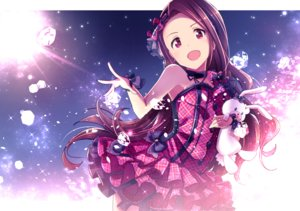 Rating: Safe Score: 141 Tags: bunny choker dress idolmaster ima_(lm_ew) lolita_fashion long_hair minase_iori purple_eyes purple_hair wristwear User: RyuZU