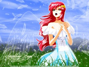 Rating: Safe Score: 4 Tags: gundam_seed lacus_clyne red_hair wings User: jjjjjhhhhh