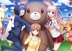 Rating: Safe Score: 117 Tags: fang nakajima_yuka scan tagme teddy_bear User: Wiresetc