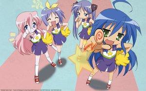Rating: Safe Score: 24 Tags: blue_hair cheerleader glasses hiiragi_kagami hiiragi_tsukasa izumi_konata kuroi_nanako lucky_star narumi_yui pink_hair takara_miyuki takemoto_yasuhiro User: 秀悟