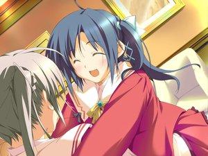 Rating: Safe Score: 0 Tags: 2girls blue_hair blush favorite game_cg gray_hair happy_margaret! kokonoka nishinomiya_shizuru ribbons rindou_saki school_uniform skirt User: 秀悟