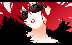Rating: Safe Score: 94 Tags: long_hair red_hair sunglasses tengen_toppa_gurren_lagann yoko_littner User: Tensa