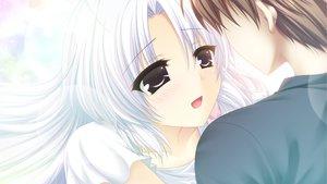 Rating: Safe Score: 10 Tags: brown_hair close game_cg gray_hair long_hair male mashiro_summer short_hair yasaka_chihiru User: Maboroshi