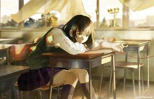 Rating: Safe Score: 22 Tags: original sakura_inu_(itoyatomo) school_uniform signed User: FormX