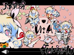 Rating: Safe Score: 33 Tags: chibi nia_teppelin pink tengen_toppa_gurren_lagann User: Oyashiro-sama