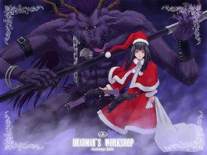 Rating: Safe Score: 6 Tags: bell chain christmas gun jpeg_artifacts purple_eyes tagme weapon User: Oyashiro-sama