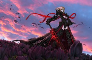 Rating: Safe Score: 174 Tags: armor artoria_pendragon_(all) fate_(series) fate/stay_night jian_huang saber saber_alter sword weapon User: Tensa