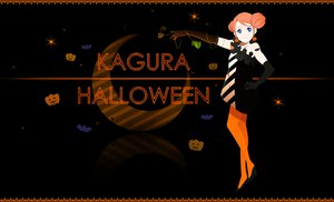 Rating: Safe Score: 30 Tags: gintama halloween k-on! kagura_(gintama) parody User: qashairy