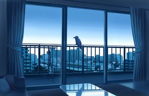 Rating: Safe Score: 57 Tags: animal bird building city gensuke nobody original reflection scenic sky User: RyuZU