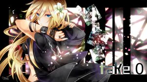 Rating: Safe Score: 88 Tags: blonde_hair blue_eyes chain lily_(vocaloid) long_hair signed tyouya vocaloid User: FormX