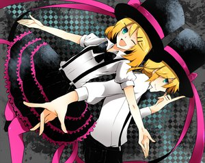 Rating: Safe Score: 29 Tags: kagamine_len kagamine_rin vocaloid User: HawthorneKitty