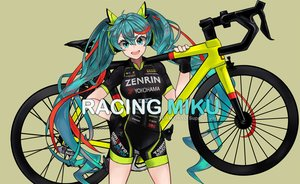 Rating: Safe Score: 31 Tags: aqua_eyes aqua_hair bicycle bike_shorts floatingapple gloves hatsune_miku shorts signed twintails vocaloid User: gnarf1975
