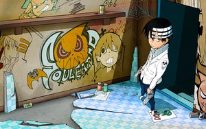 Rating: Safe Score: 72 Tags: death_the_kid gun soul_eater weapon User: Ichii