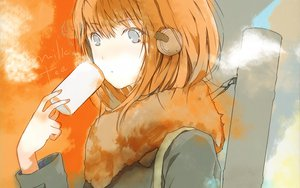 Rating: Safe Score: 67 Tags: brown_hair fuyuno_haruaki gray_eyes headphones tagme User: nobucode