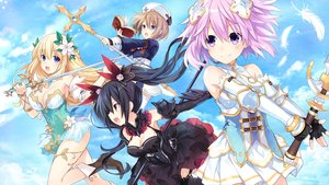 Rating: Safe Score: 36 Tags: aliasing black_hair blanc blonde_hair blue_eyes book boots breasts brown_hair cleavage clouds dress feathers flowers gloves group hyperdimension_neptunia long_hair neptune noire ponytail purple_eyes purple_hair red_eyes short_hair sky staff sword thighhighs tsunako vert weapon User: BattlequeenYume
