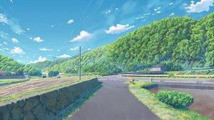 Rating: Safe Score: 71 Tags: building clouds fateline_alpha grass landscape nobody original scenic sky tree User: RyuZU