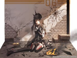 Rating: Safe Score: 71 Tags: aliasing black_hair boots cape cropped dress elbow_gloves fire gloves headdress kim_eb long_hair necklace punishing:_gray_raven red_eyes ruins thighhighs tifa_(punishing:_gray_raven) torn_clothes User: otaku_emmy